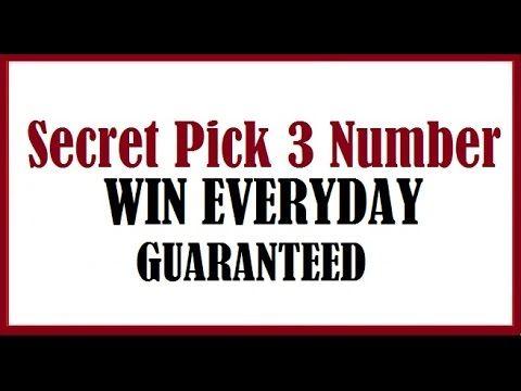 Winning the Pick 3 Lottery